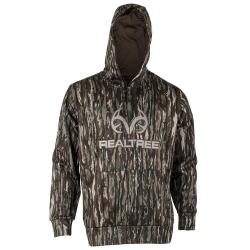 Realtree Men's Original Camo Antler Tech Hoodie Image