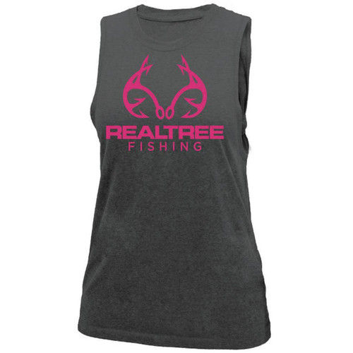 Women's Fishing Tie-Back Tank