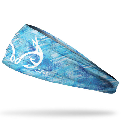 Realtree Fishing Blue Performance Headband