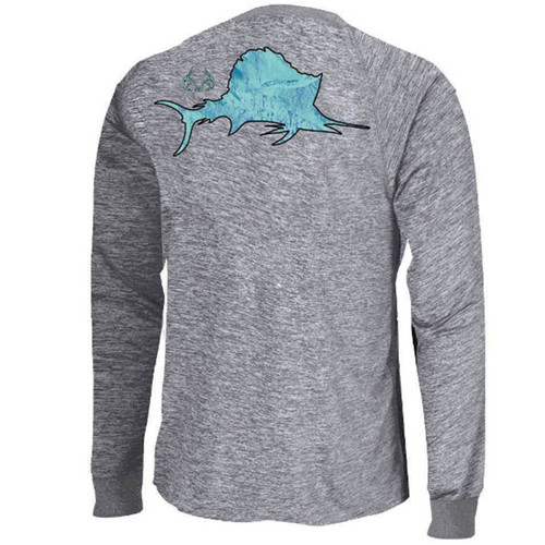 Men's Fishing Offshore Performance Long Sleeve Shirt