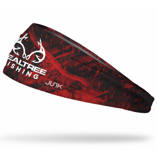 Realtree Fishing Red Performance Headband