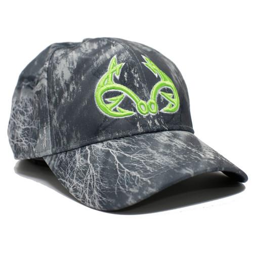 Realtree Fishing Black Performance Hat