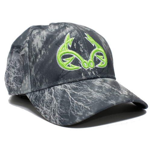 Realtree Fishing Black Performance  Hat