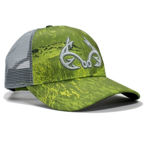 Realtree Fishing Green Performance Hat