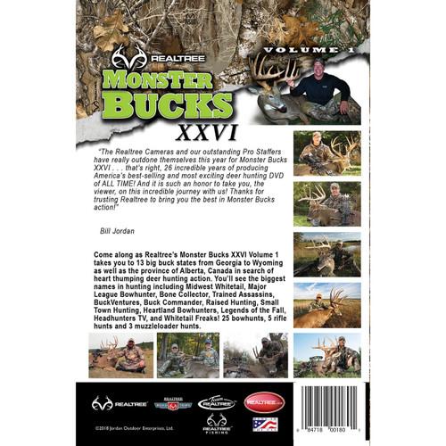 Monster Bucks XXVI Volume 1 (2018 Release) Back