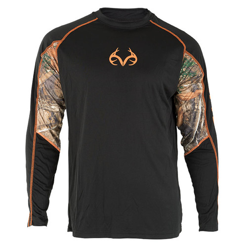 Men's Active Longsleeve Shirt with Edge Accents
