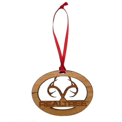 Realtree Wooden Ornaments - 2""