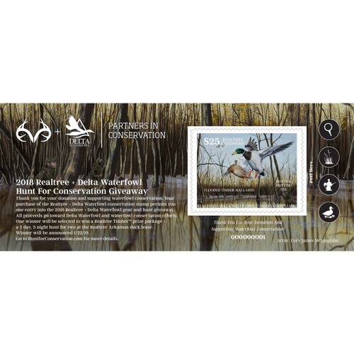 Realtree + Delta Waterfowl Raffle ticket