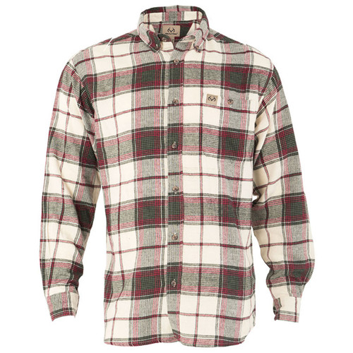Men's Red Flannel Shirt