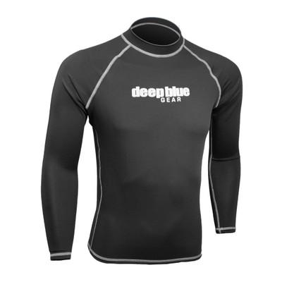 Men's Long Sleeve Rashguard by Deep Blue Gear