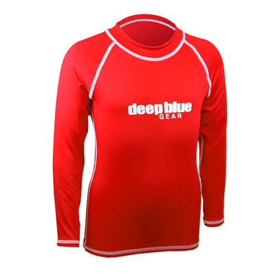 Kids Long Sleeve Rashguard by Deep Blue Gear