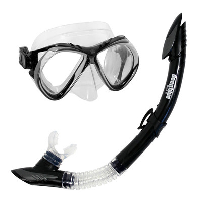 Del Sol 2 - Adult Mask and Snorkel Set by Deep Blue Gear