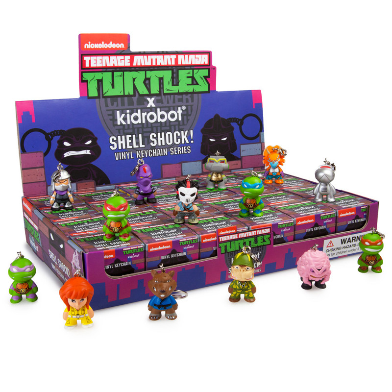 TMNT Shell Shock Keychain Series : Case of 24