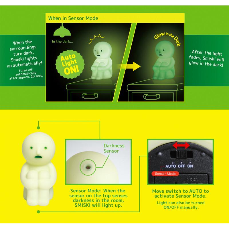 Smiski Sensor Light