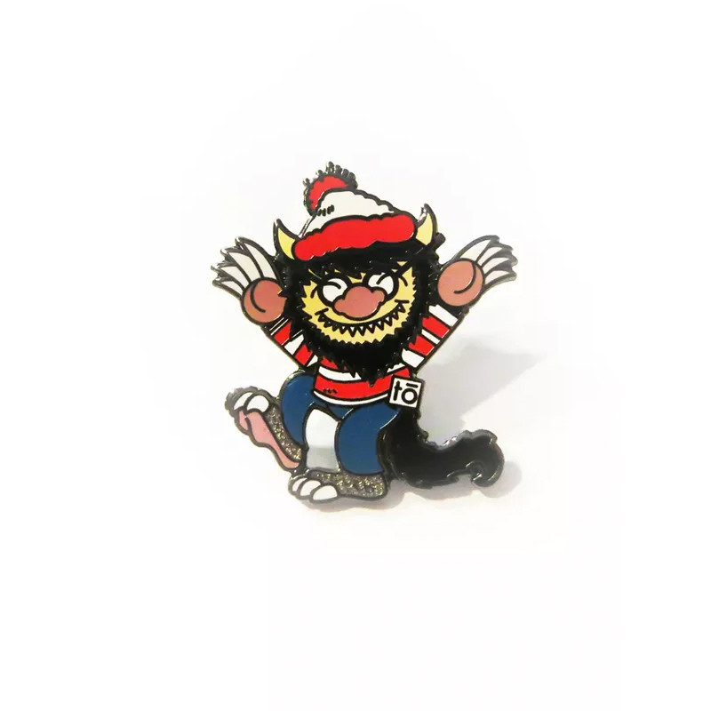 Waldo Things Enamel Pin