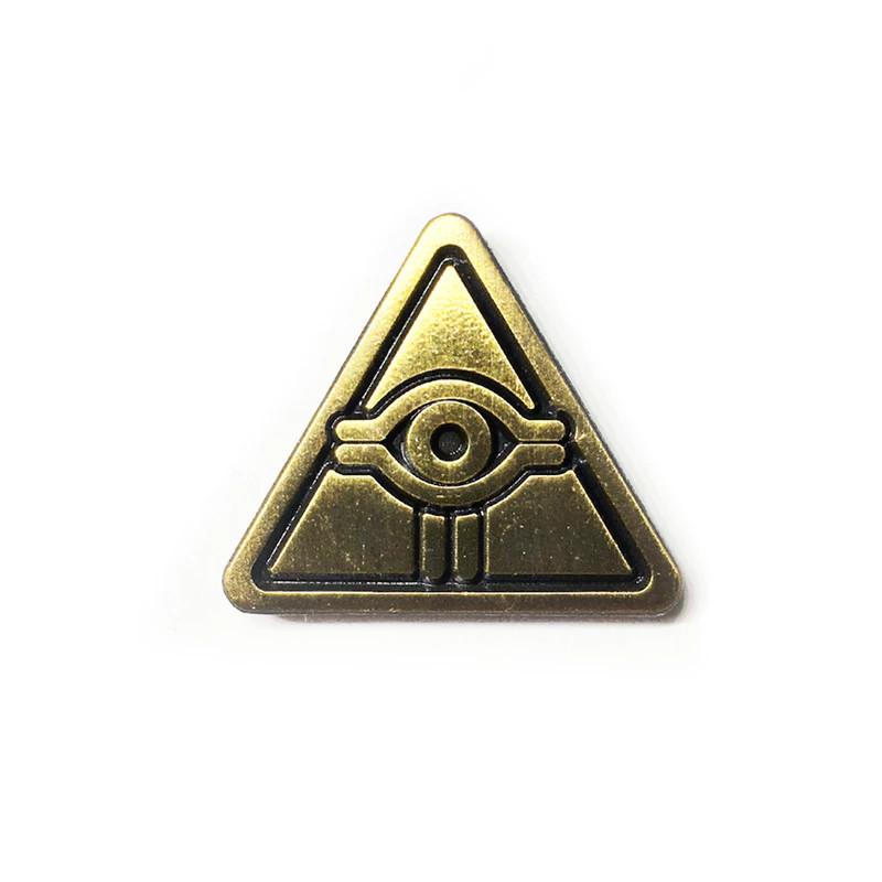 Milluminati Enamel Pin