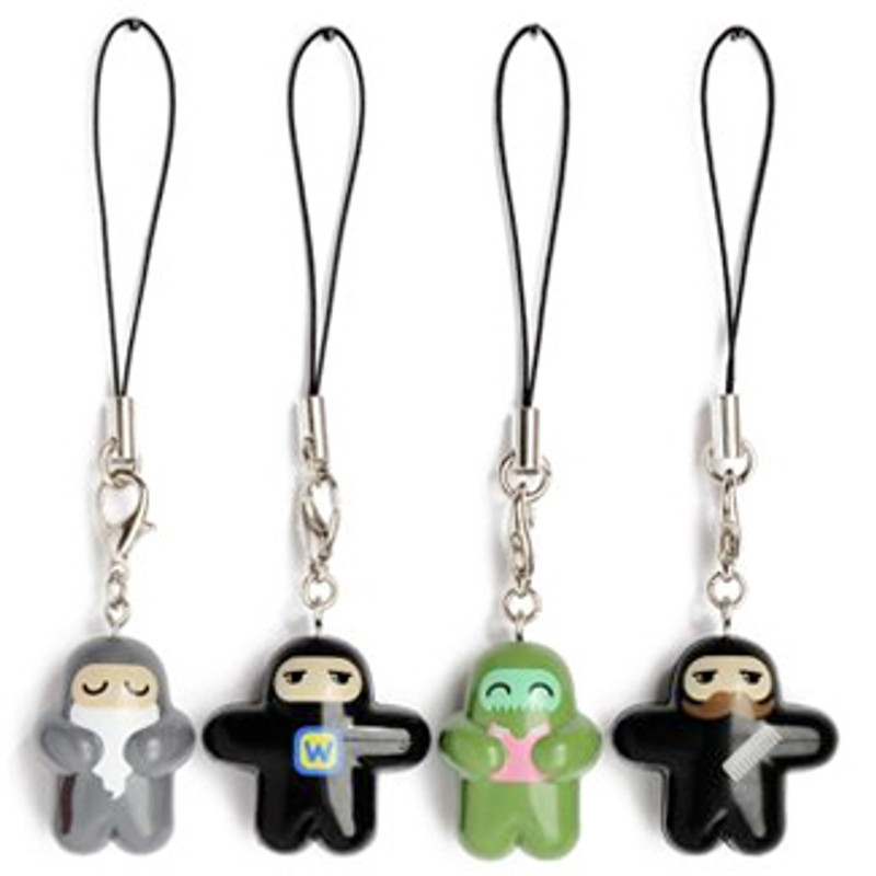 Ninjatown Zipper Charms : Blind Box