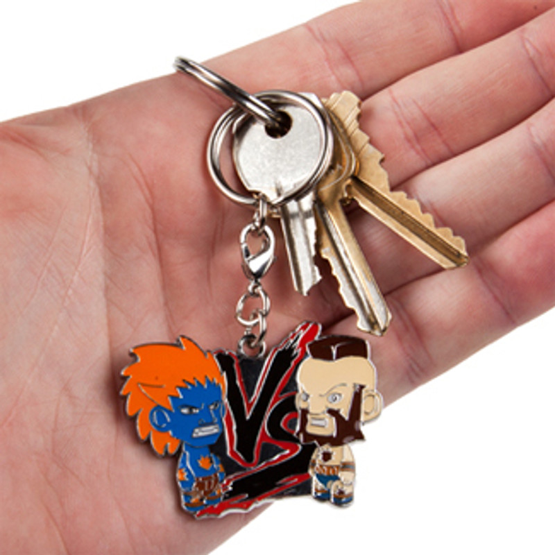 Street Fighter Enamel Keychains : Blind Bag