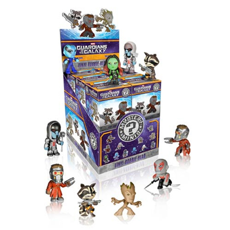 Guardians of the Galaxy Bobblehead Mystery Mini Series : Case of 12