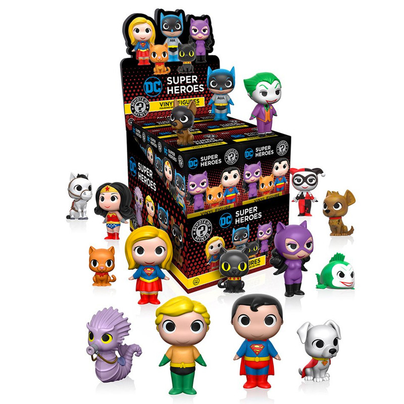DC Heroes and Pets Mystery Mini : Case of 12