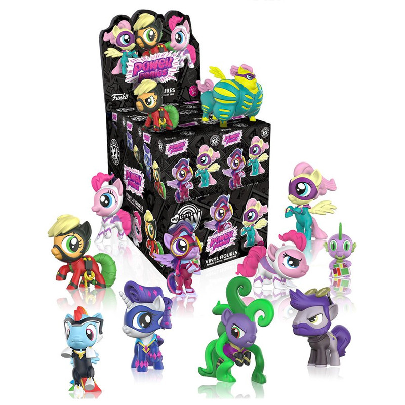 My Little Pony Power Ponies Mystery Mini : Case of 12