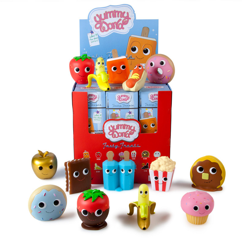 Yummy World Vinyl Tasty Treats Mini Series : Case of 24