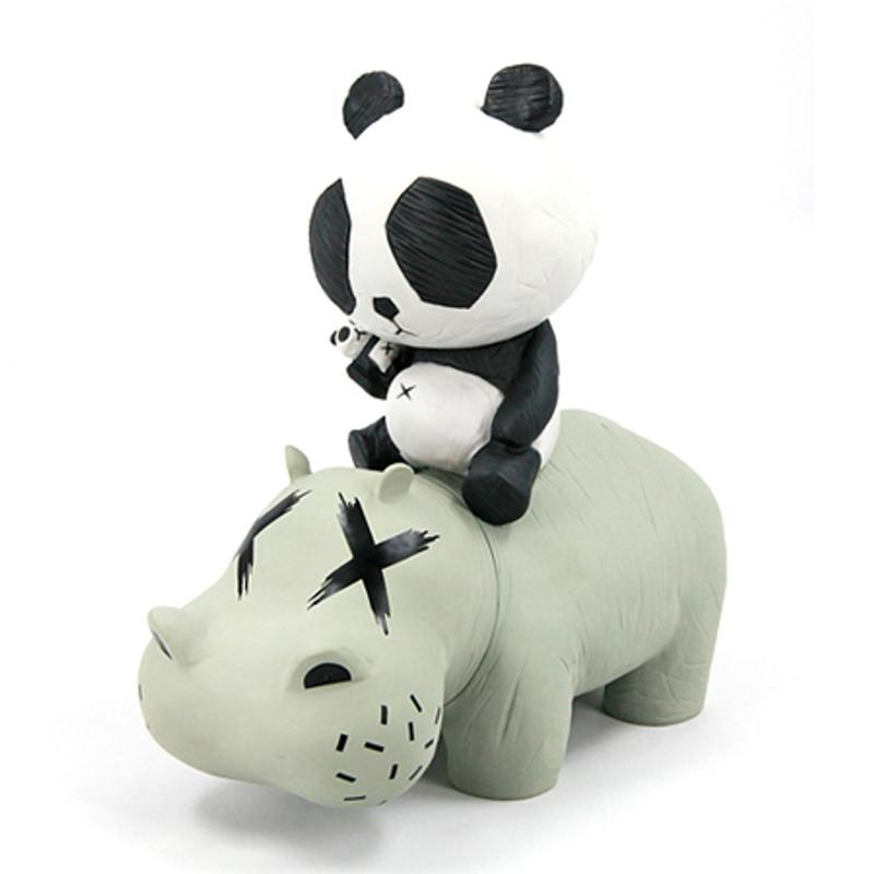 Hippo Panda : Grey