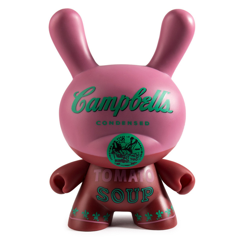 Andy Warhol 8 inch Masterpiece Dunny :  Campbells Soup Can