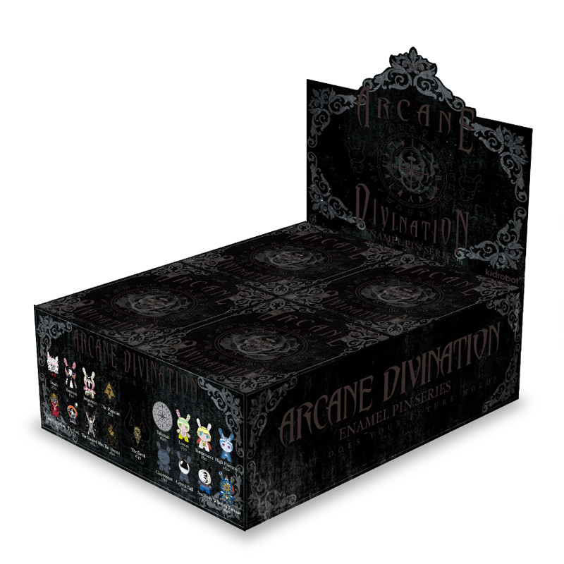 Arcane Divination Enamel Pin Series : Case of 20