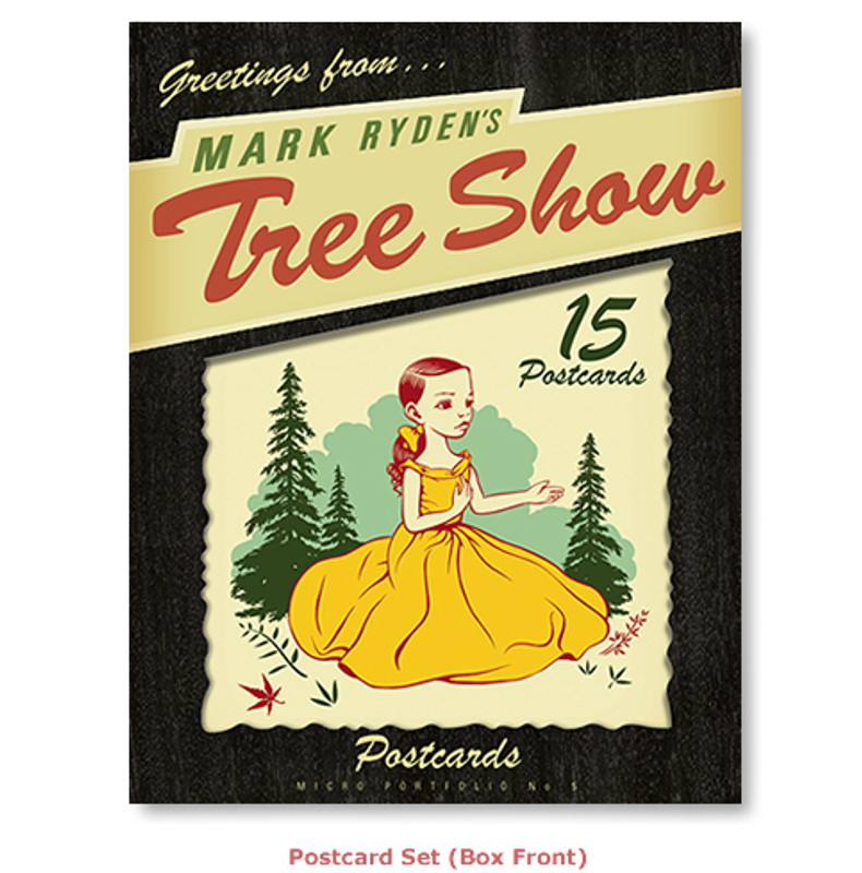 Mark Ryden's Tree Show Postcard Microportfolio