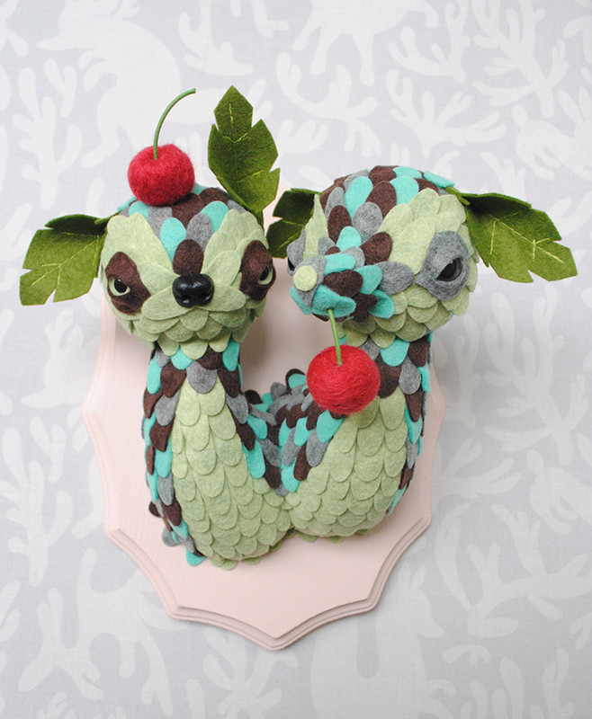 Mint Chip Double Scoop by Horrible Adorables