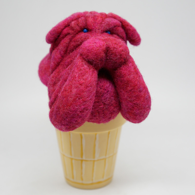 Raspberry Shar Pei by POPprolific