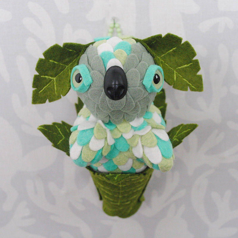 Mint Leaf Peeper by Horrible Adorables