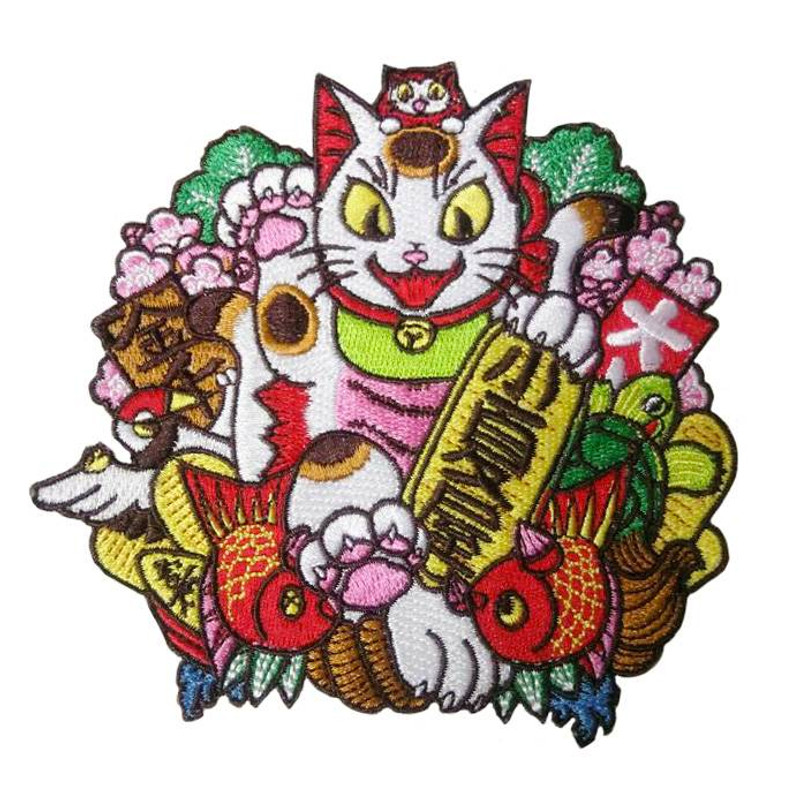 Negora Kumade Embroidered patch by Konatsu