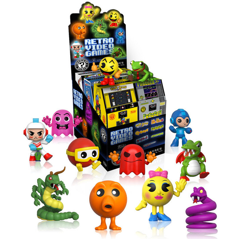 Retro Games Series 1 Mystery Mini : Case of 12