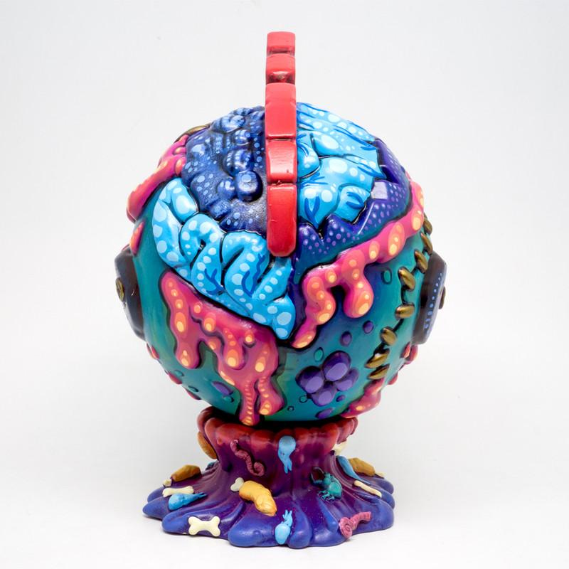Space Virus Bothead by Remjie Malham *SOLD*