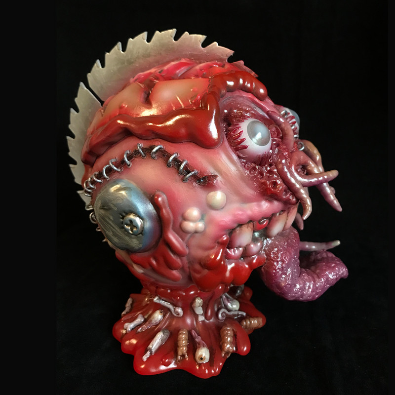 Bot Head Miscreated by Miscreation Toys ***SOLD***