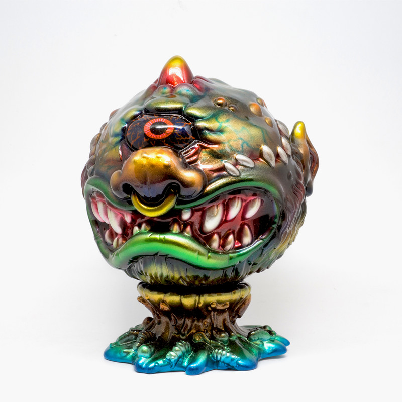 Metallic Madballs #2 by Mark Nagata ***SOLD***