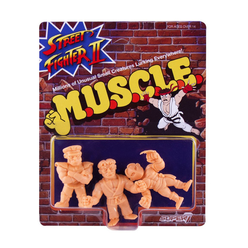 Street Fighter 2 MUSCLE Wave 1 : Pack A