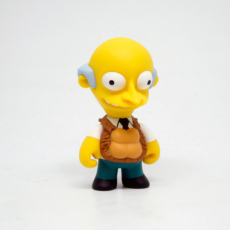 Simpsons 25th Anniversary Mini Series : Mr. Burns See My Vest *OPEN BOX*