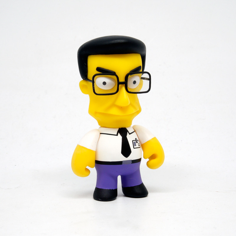 Simpsons 25th Anniversary Mini Series : Frank Grimes *OPEN BOX*