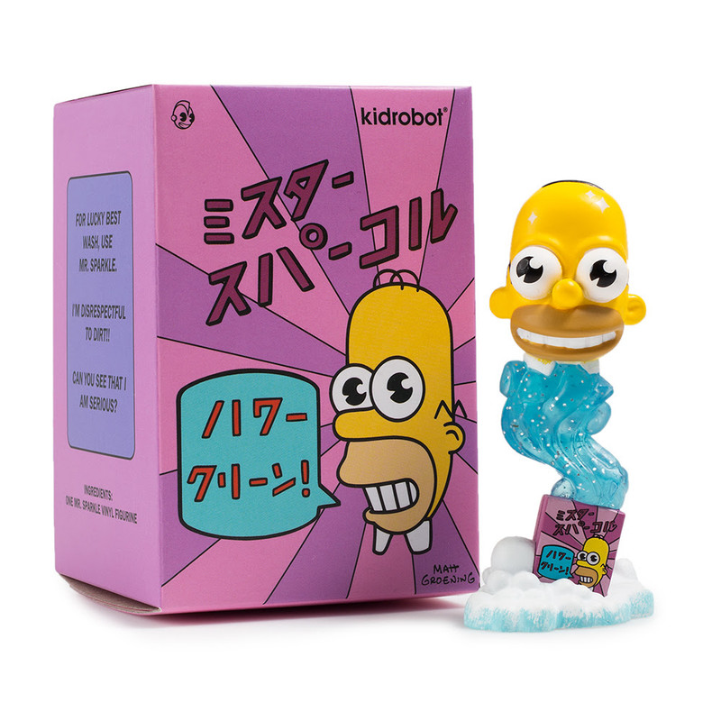 Simpsons 3 inch Mr. Sparkle