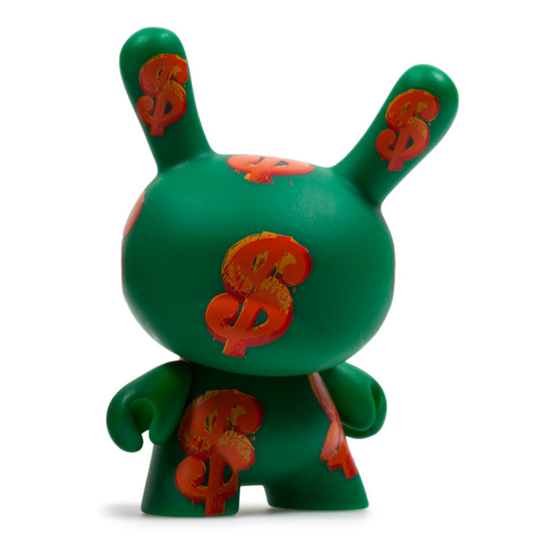 Warhol Dunny Series 2 : Dollar Sign *OPEN BOX*