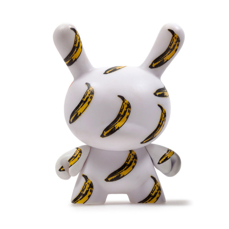 Warhol Dunny Series 2 : Banana *OPEN BOX*
