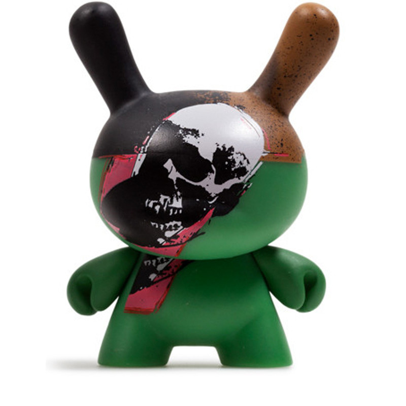 Warhol Dunny Series 2 : Skull *OPEN BOX*