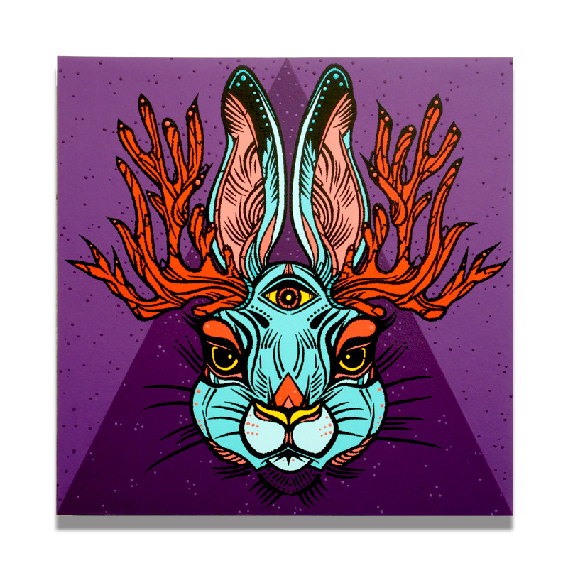 Peter Cottontail's Cool Cousin by Anthony Weirdeyeone