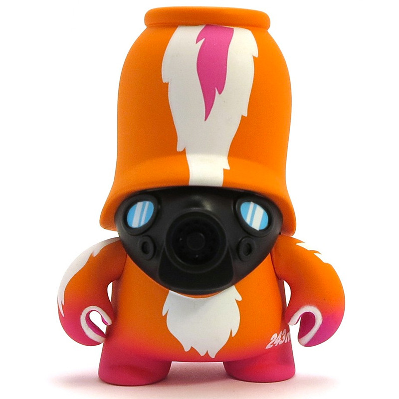 Teddy Troops 2.0 :  Skunk Trooper Orange
