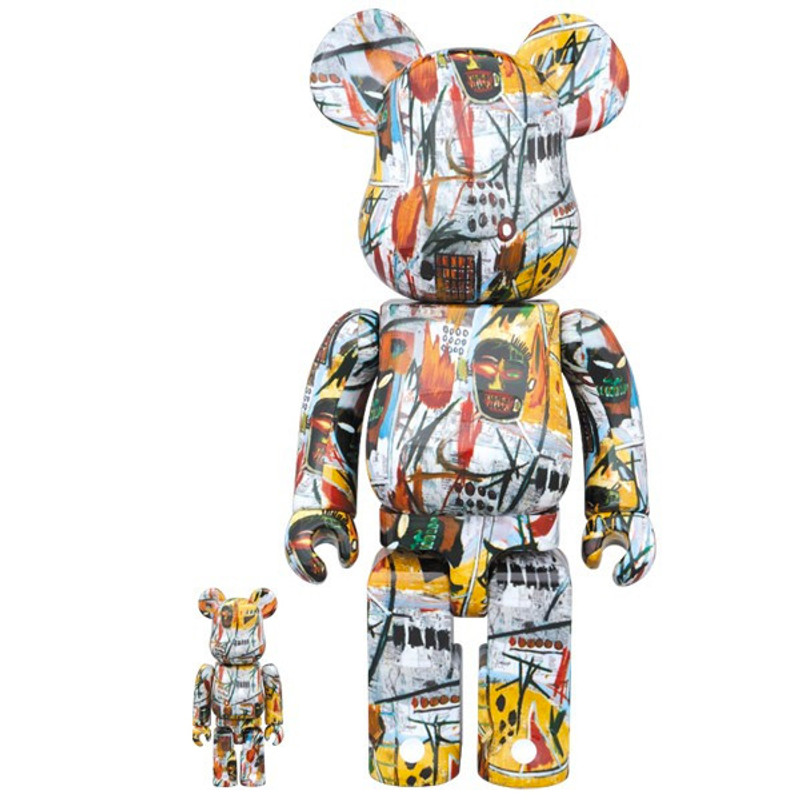 Be@rbrick 400% and 100% : Jean-Michel Basquiat