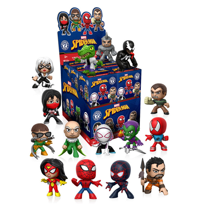 Classic Spider-Man Mystery Mini Bobble Head Series : Blind Box