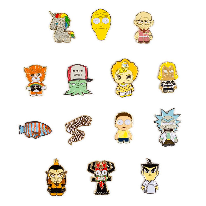 Adult Swim Enamel Pin Series : Blind Box
